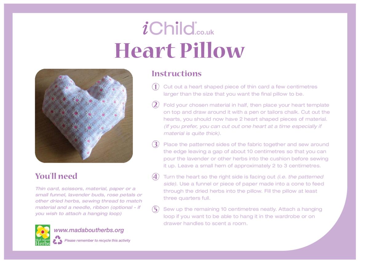 Heart Pillow