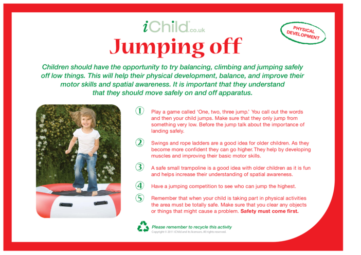 Thumbnail image for the Jumping Off activity.