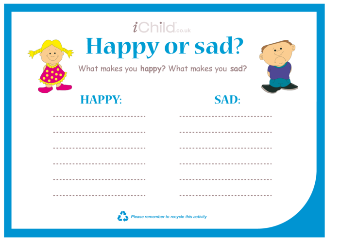 Thumbnail image for the Happy or Sad activity.