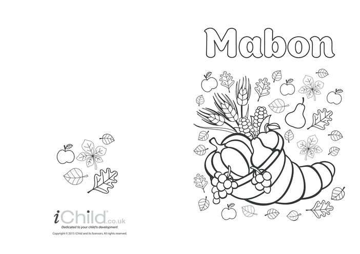 Thumbnail image for the Happy Mabon card activity.