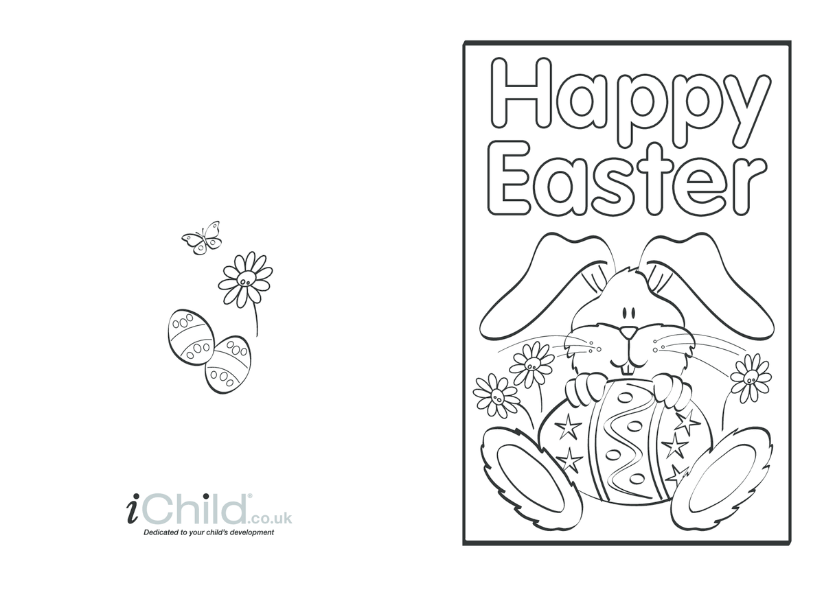 Easter Card (bunny) design