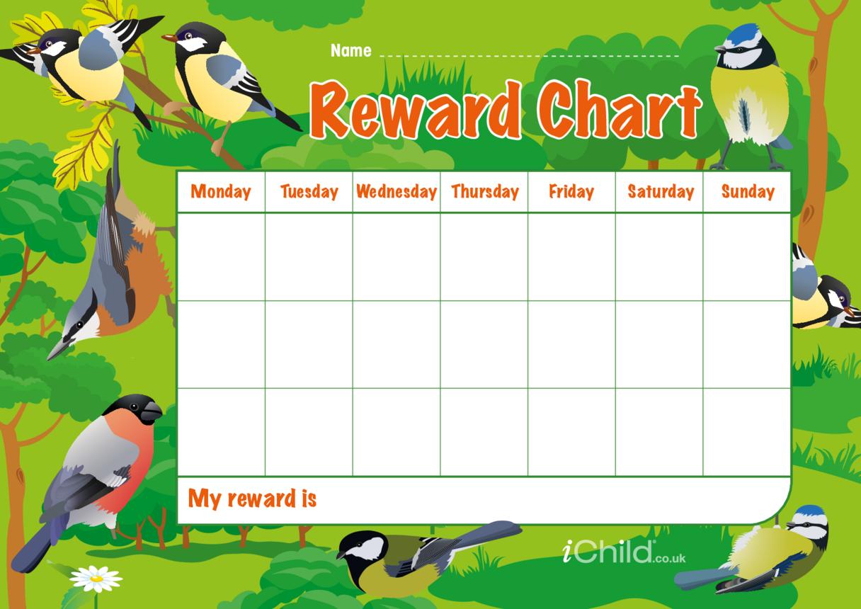 Birds Reward Chart