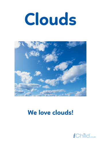 Thumbnail image for the Clouds - Photo Poster activity.