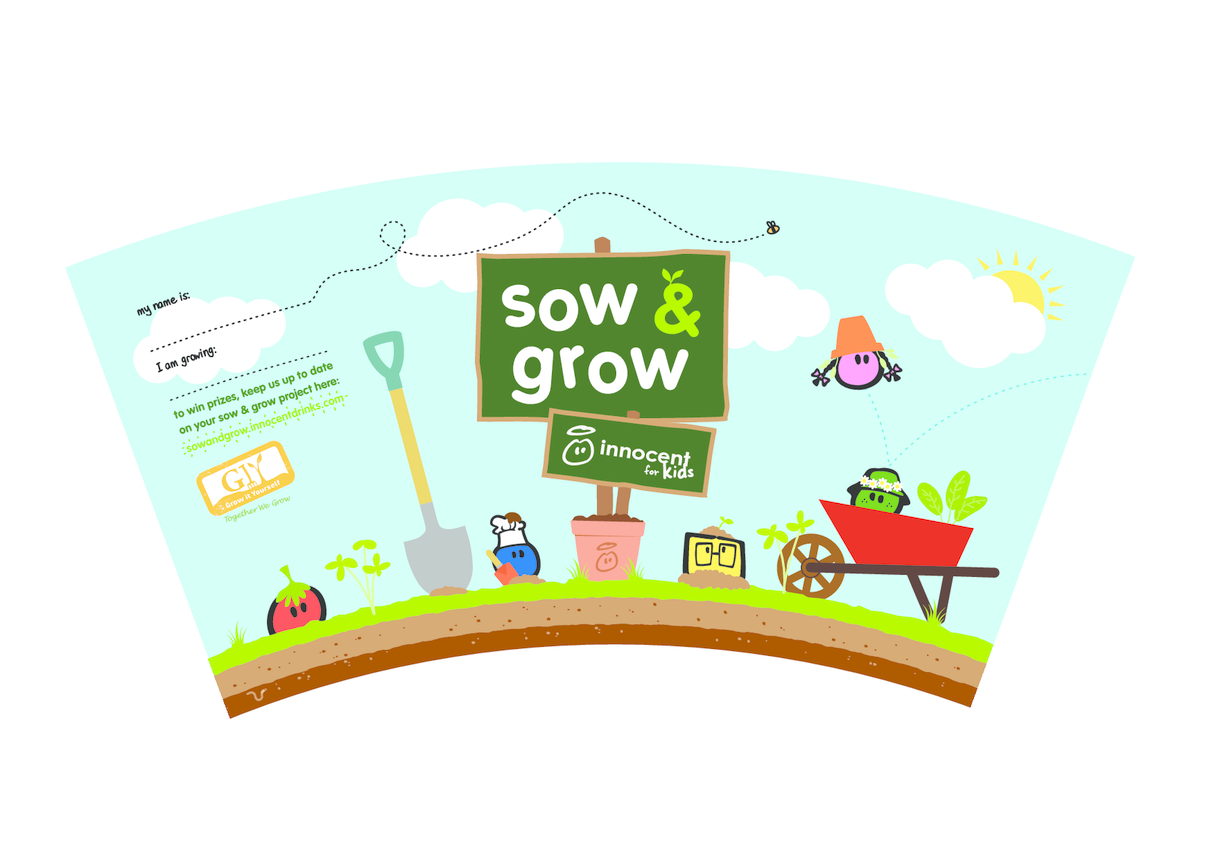 Sow & Grow - Growing Pot Wrapper