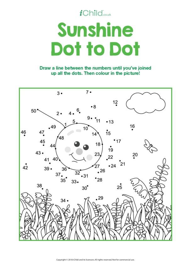 Sunshine Dot to Dot
