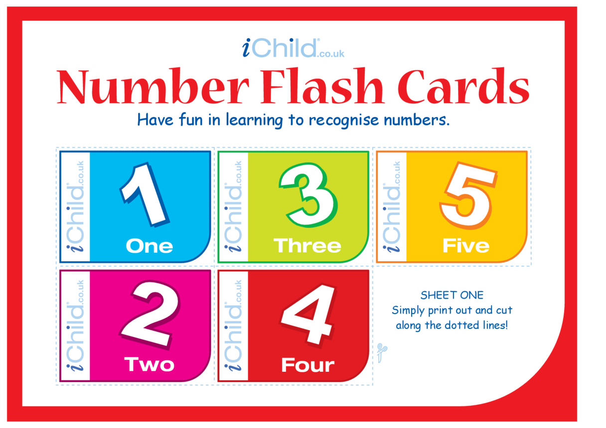 Flash Cards: Numbers 1-10