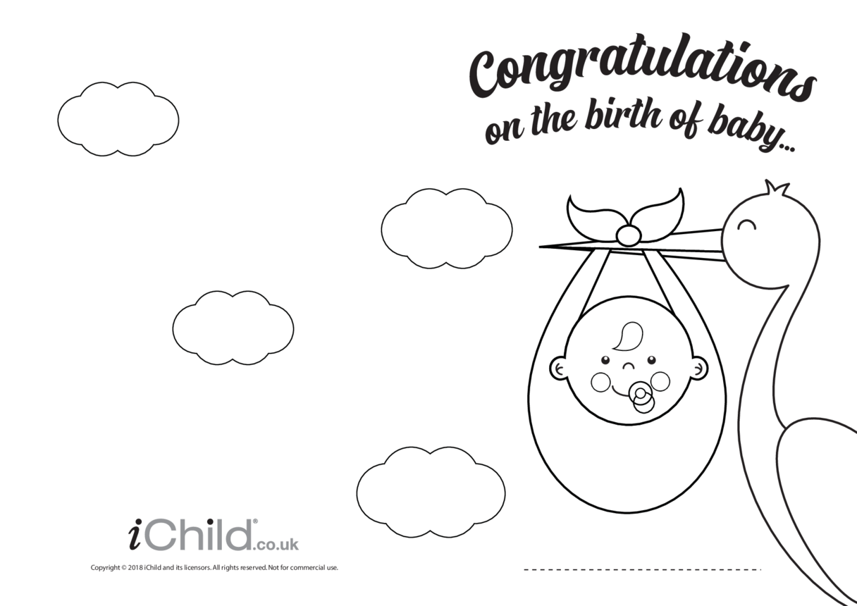Congratulations on the Birth of Baby Card