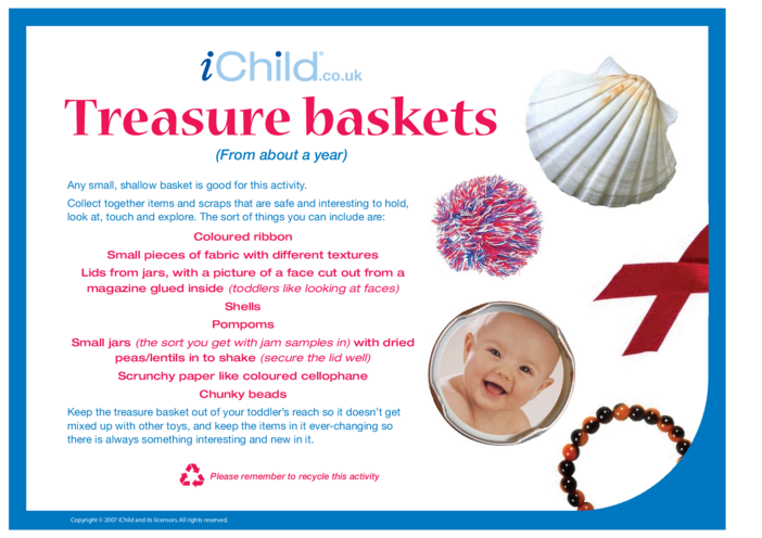 Thumbnail image for the Treasure Baskets activity.
