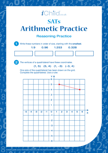 Thumbnail image for the Arithmetic Practice: Reasoning activity.
