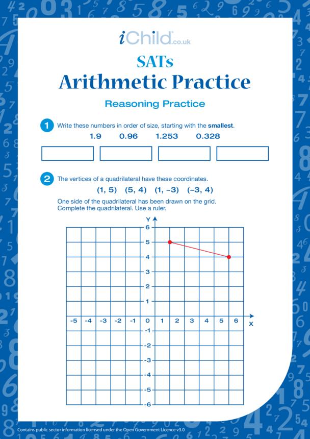 Arithmetic Practice: Reasoning