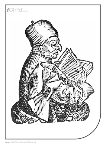 Thumbnail image for the St. Bede Colouring in Picture activity.