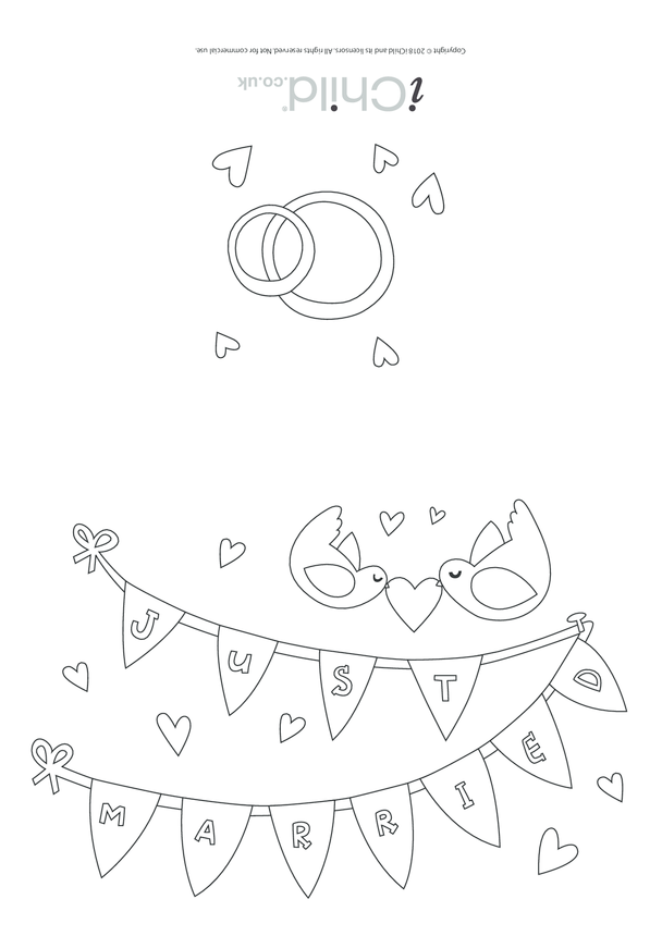 Just Married - Card
