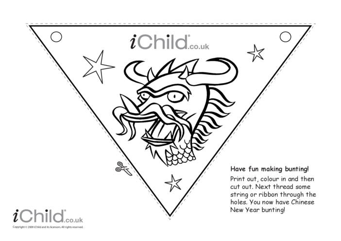 Thumbnail image for the Chinese New Year Bunting activity.