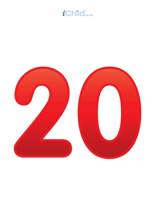 20: Number 20 - Poster