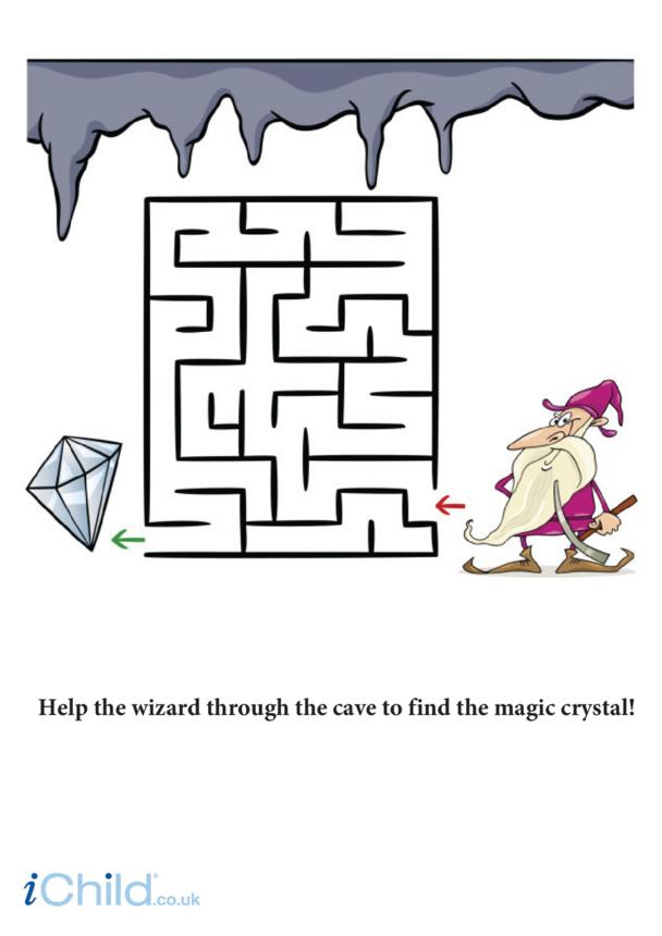 Wizard Crystal Maze