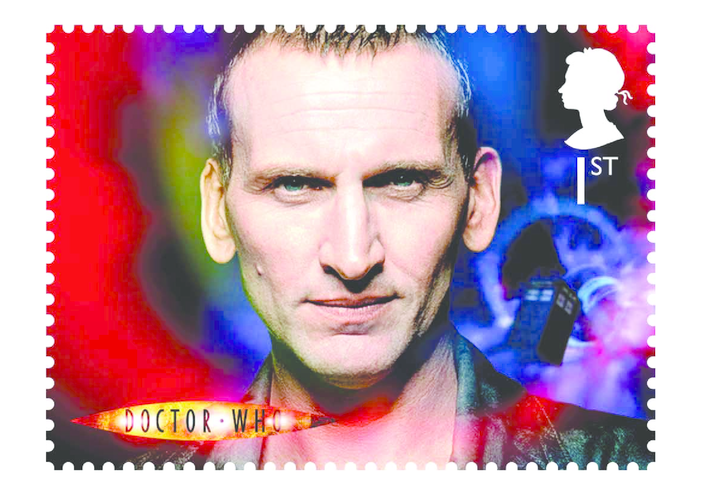 Thumbnail image for the The 9th Doctor- Christopher Eccleston Stamp Image activity.