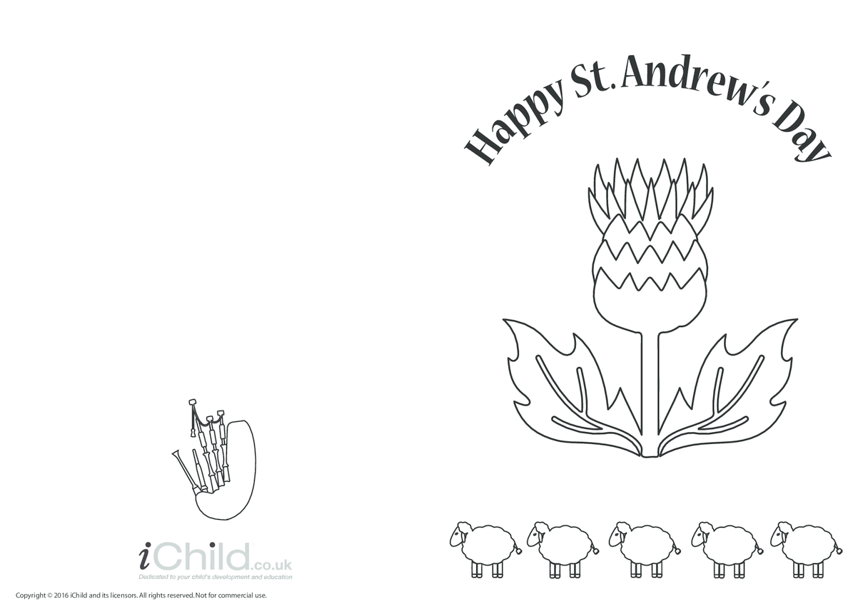 Happy St. Andrew's Day Card