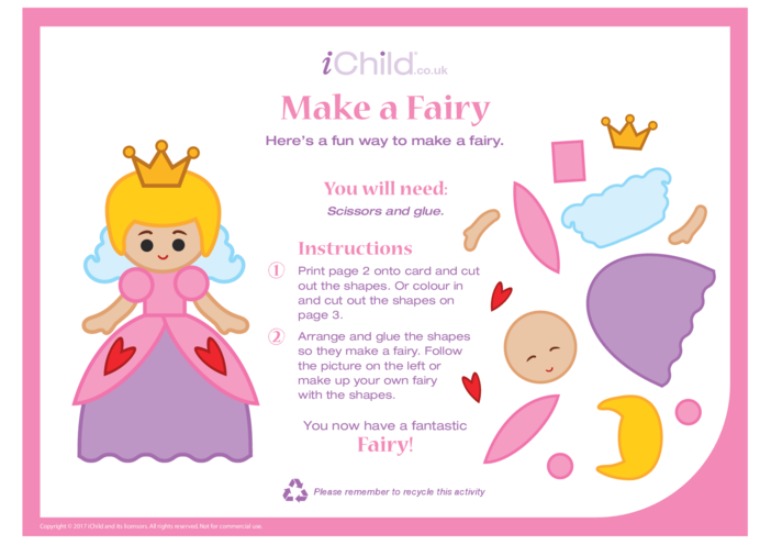 Thumbnail image for the Make a Fairy activity.