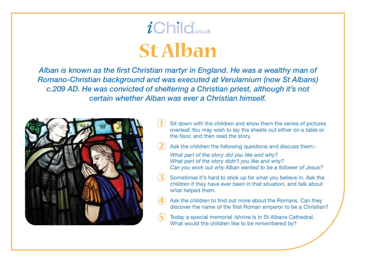 St. Alban Religious Festival Story