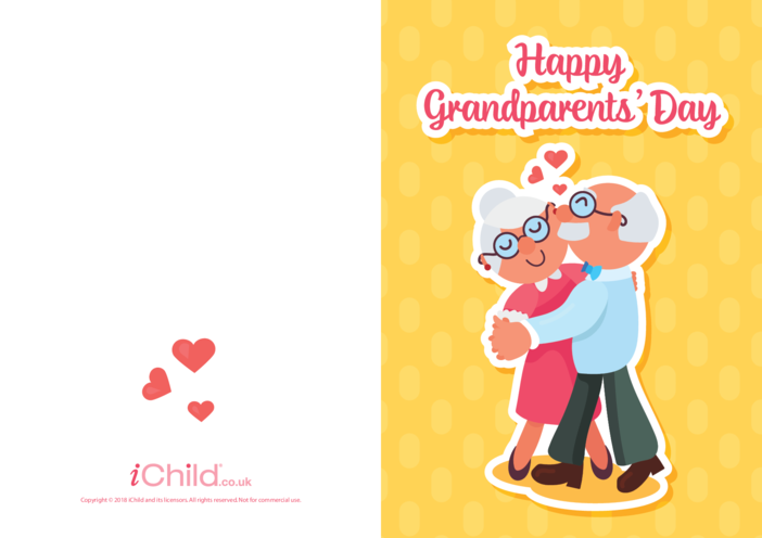 Thumbnail image for the Grandparents' Day Card (Ballroom Dancers) activity.