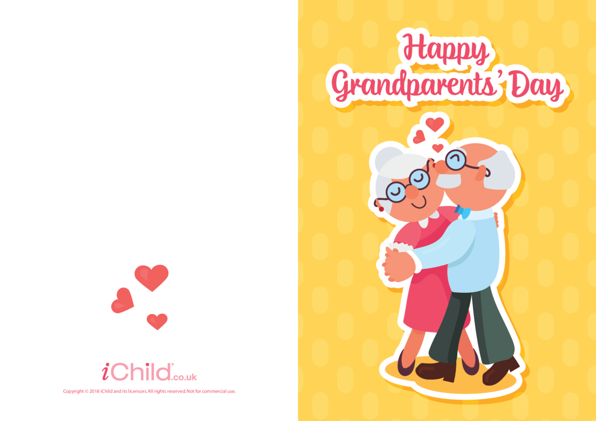 Grandparents' Day Card (Ballroom Dancers)