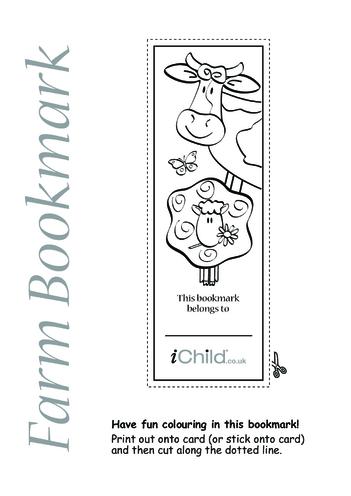 Thumbnail image for the Farm Bookmark activity.
