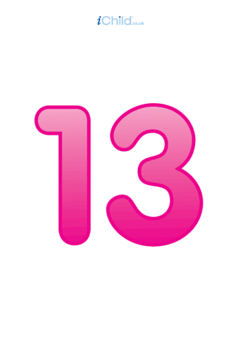 Thumbnail image for the 13: Number 13 - Poster activity.