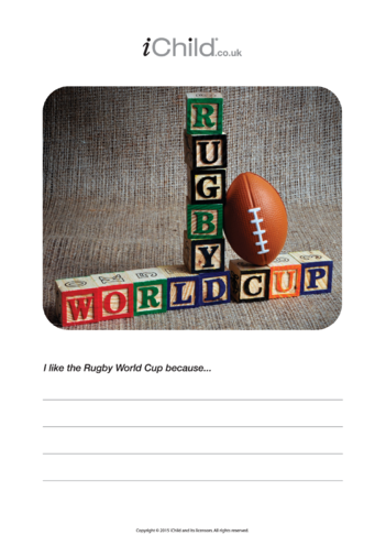 Thumbnail image for the Rugby World Cup Poster activity.