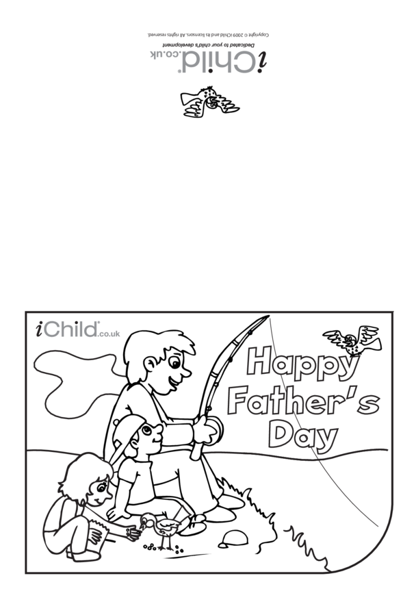 Father's Day Card (Fishing)