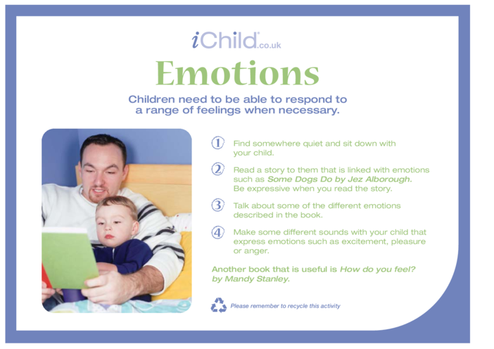 Thumbnail image for the Emotions activity.