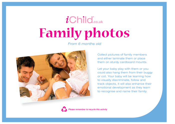Thumbnail image for the Family Photos activity.