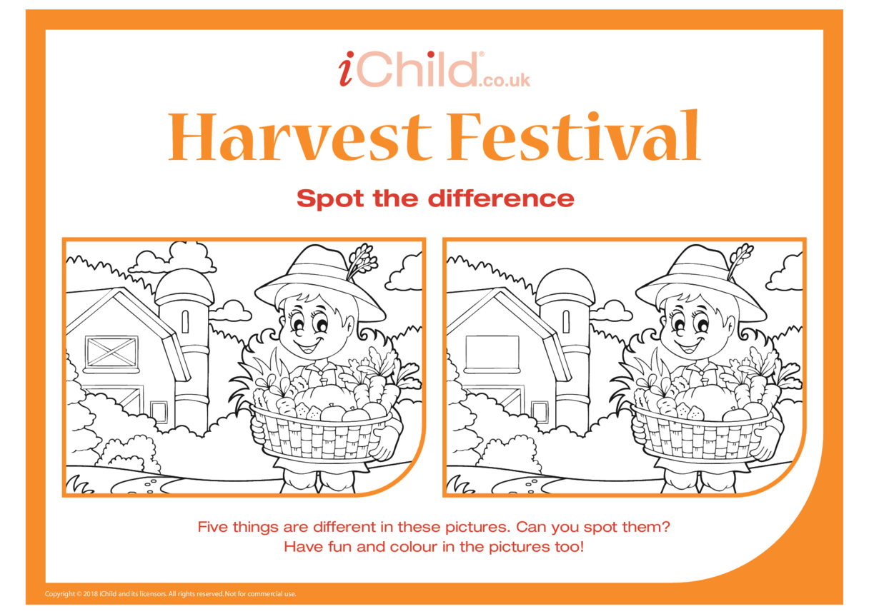 Harvest Festival: Spot the Difference