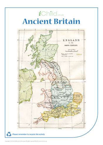 Thumbnail image for the Map of Ancient Britain activity.