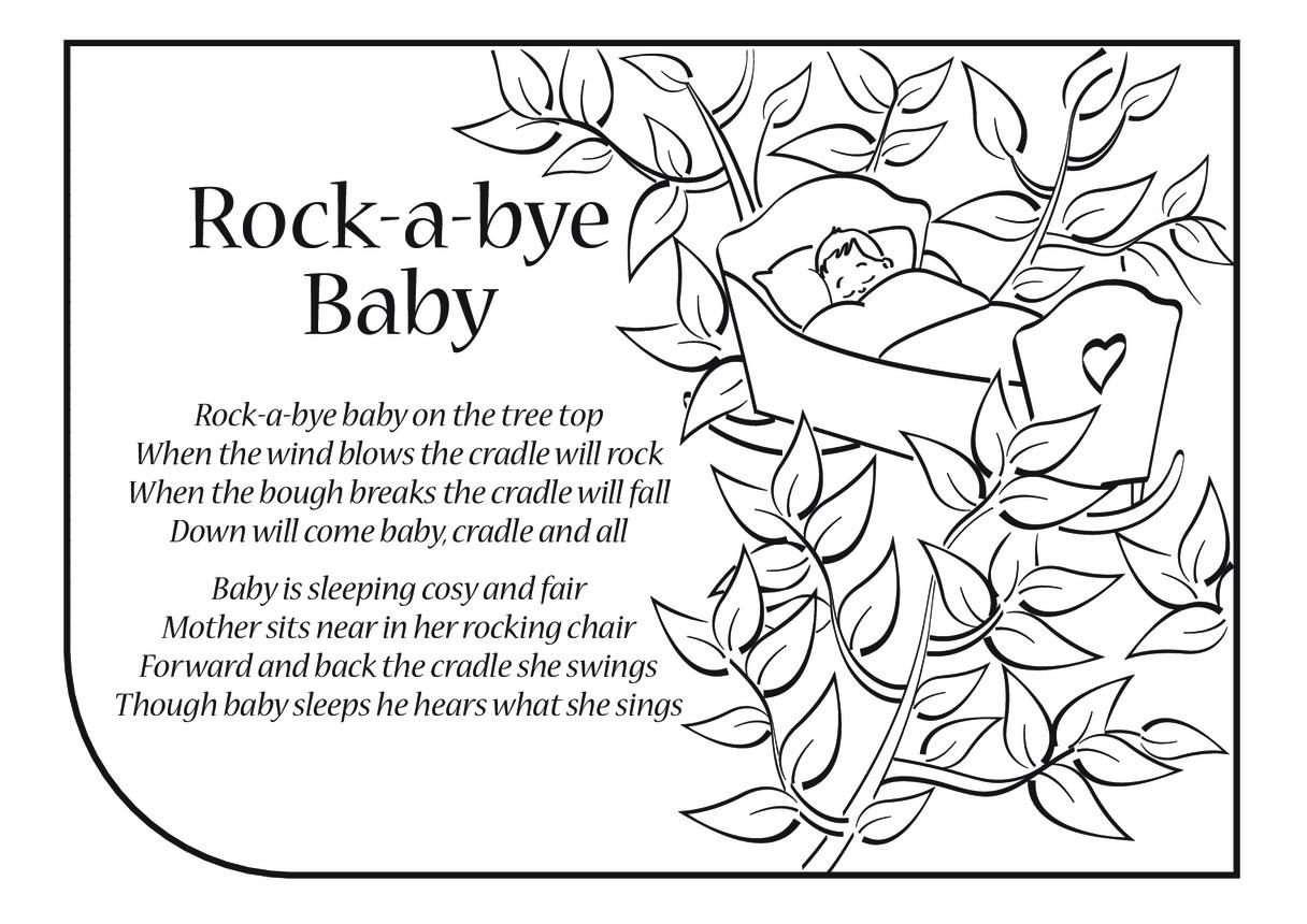 Rock-a-bye Baby Lyrics