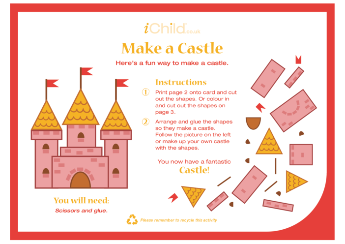 Thumbnail image for the Make a Castle activity.