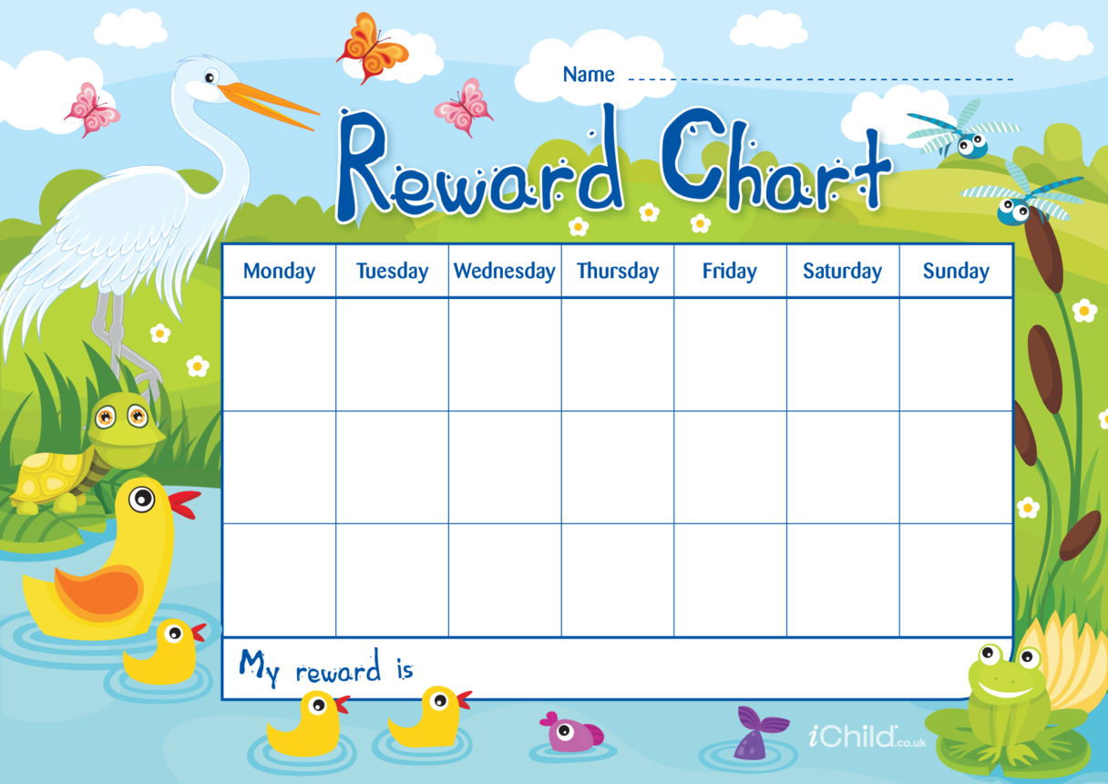 Pond Life Reward Chart