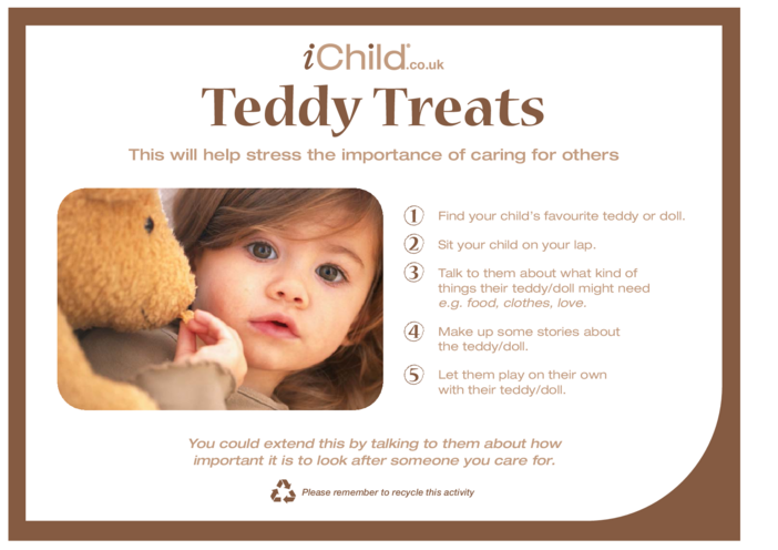 Thumbnail image for the Teddy Treats activity.