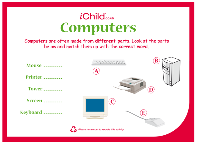 Thumbnail image for the Computers activity.