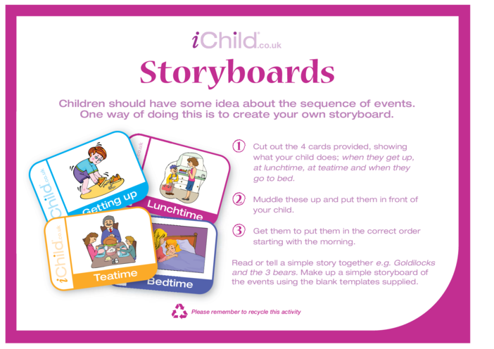 Thumbnail image for the Storyboards activity.
