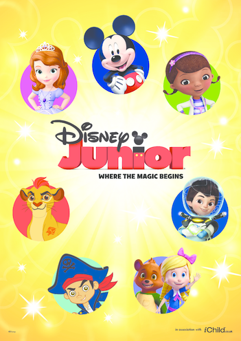 Thumbnail image for the 3. Disney Junior Poster activity.