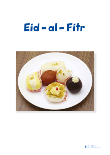 Thumbnail image for the Eid al-Fitr Poster activity.