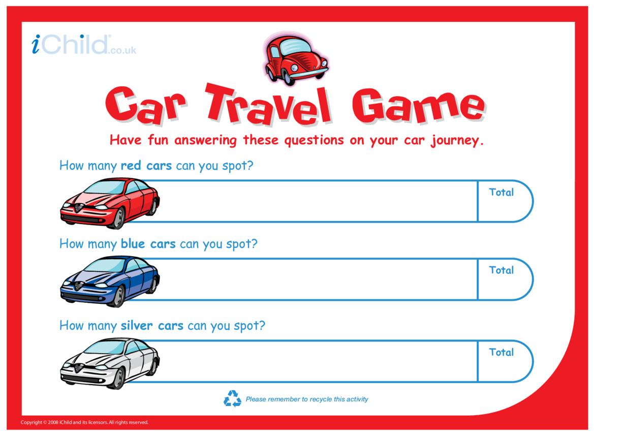 Car Travel Game
