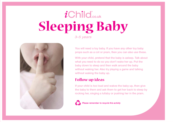 Thumbnail image for the Sleeping Baby activity.
