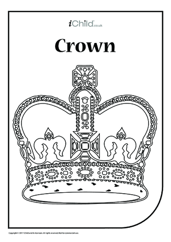 Thumbnail image for the Crown Colouring in Picture activity.