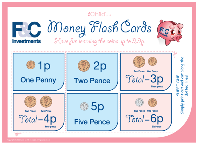 Thumbnail image for the Money Flash Cards activity.