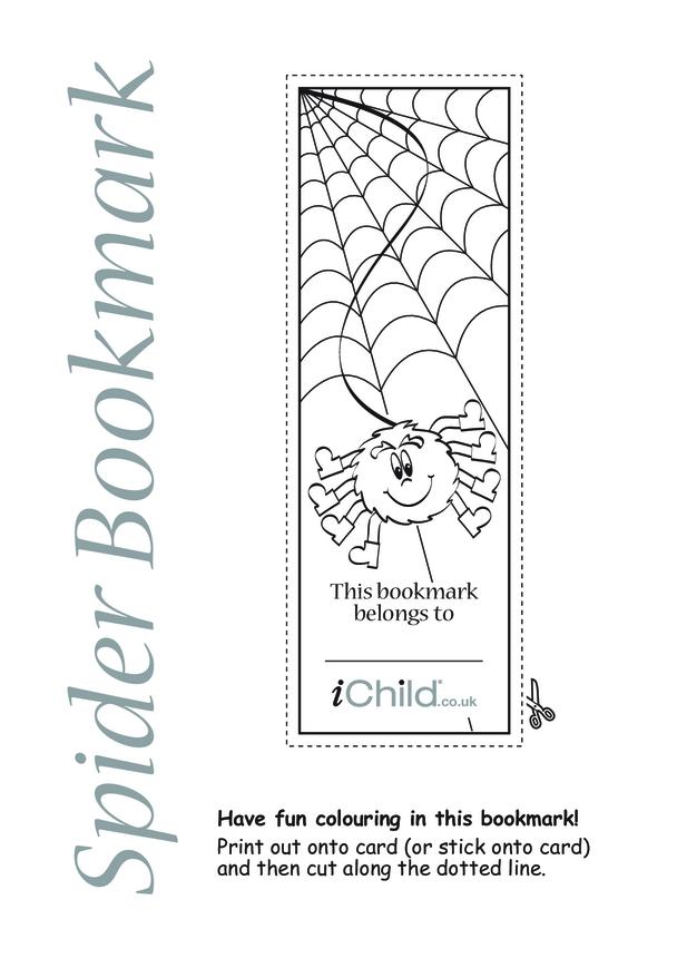Spider Bookmark