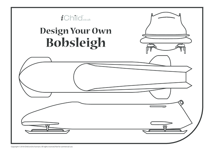 Thumbnail image for the Design Your Own Bobsleigh activity.