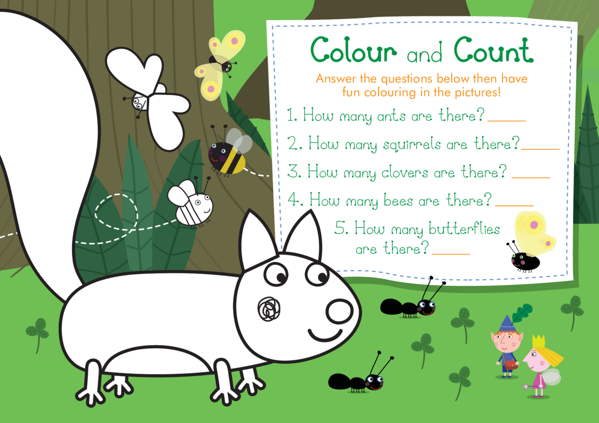 Colour and Count: Ben & Holly's Little Kingdom