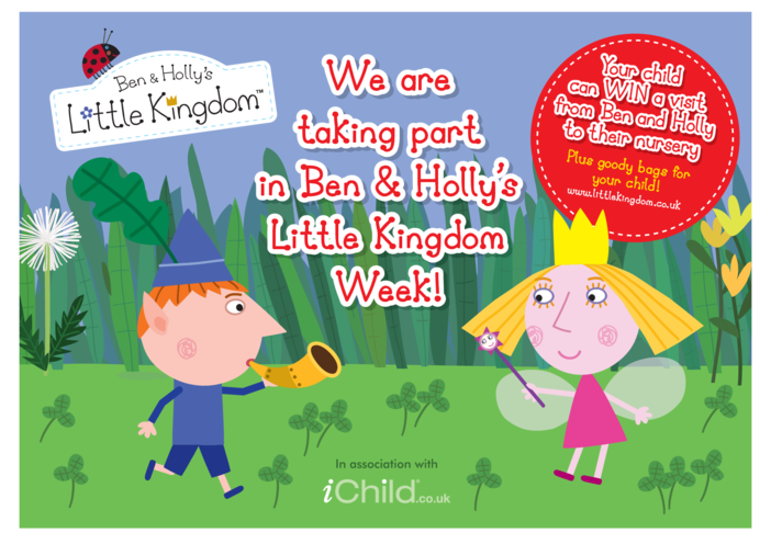 Thumbnail image for the Ben & Holly's Little Kingdom Week Poster activity.