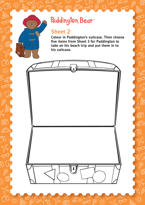 Paddington Bear: Help Paddington Choose What To Take On Holiday (EYFS/KS1)